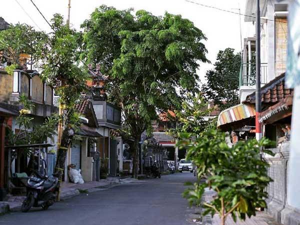 バリ島の町の風景