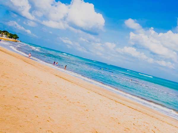 バリ島のクタ・ビーチの風景