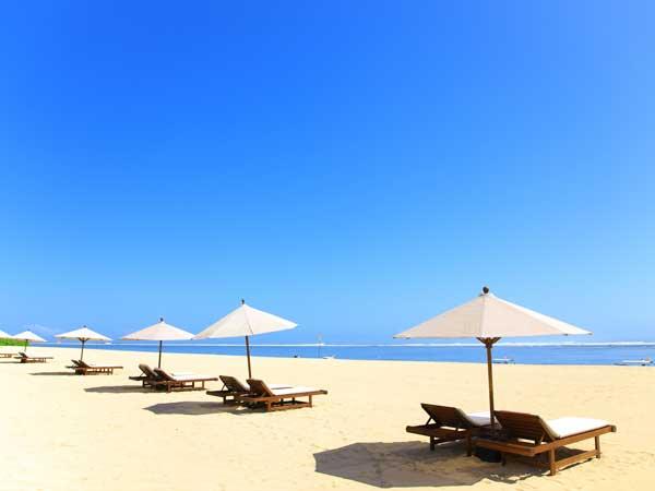 バリ島のヌサドゥアビーの風景