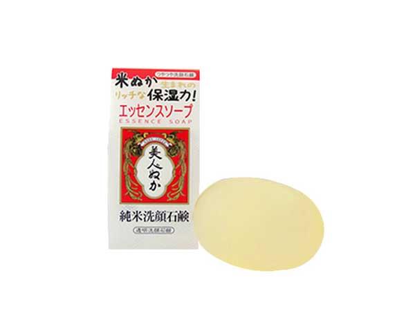 米ぬか化粧品の純米洗顔石鹸