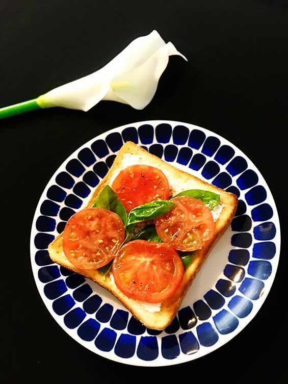 簡単にできる朝食に適したイタリアントースト