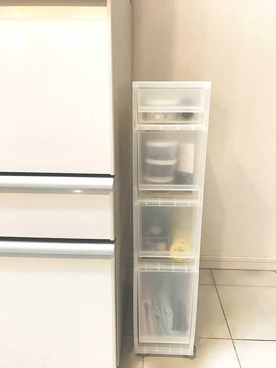 隙間収納に対応できる無印良品の収納ボックス
