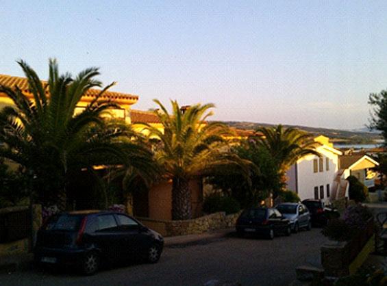 サルデーニャ島イゾラロッソでレンタルした別荘風アパートホテル