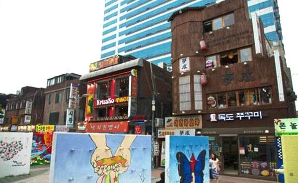 韓国の弘大と建大を散策中にふらっと寄りたいスポット